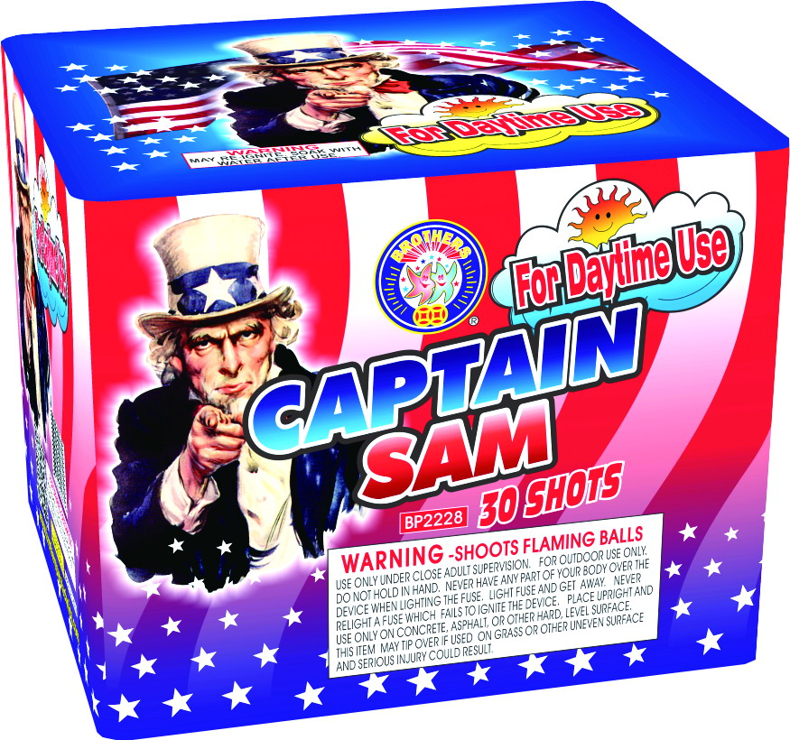 Captain Sam Parachute 30 shot