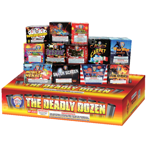 The Deadly Dozen Assortment