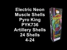 Electric Neon Muscle Artillery