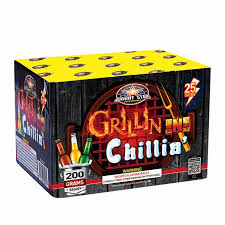 GRILLIN & CHILLIN 25 SHOT (NEW)