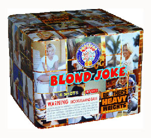 Blonde Joke 36 shot