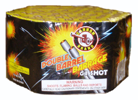 Double Barrel Barrage 61 shot