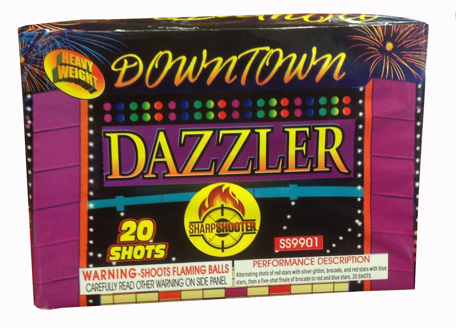 Downtown Dazzler 20 shot