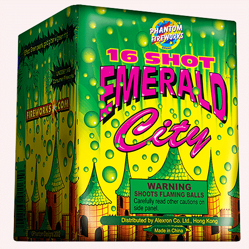 Emerald City 16 shot