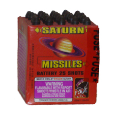 Shogun Saturn Missile 25 shot - 30-4 pack
