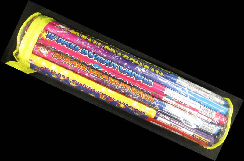 Poly Pack Roman Candle Assortment